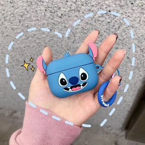 Lilo and Stitch 'Smiling Stitch' Premium AirPods Pro Case Shock Proof Cover