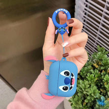 Load image into Gallery viewer, Lilo and Stitch 'Smiling Stitch' Premium AirPods Pro Case Shock Proof Cover