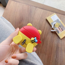 Load image into Gallery viewer, Winnie the Pooh 'Booty' Premium AirPods Case Shock Proof Cover