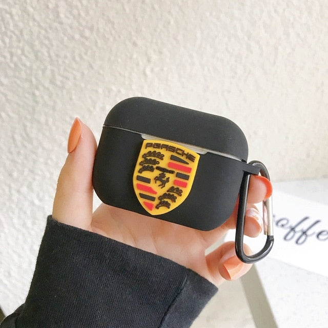 Porsche Silicone AirPods Pro Case Shock Proof Cover