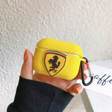 Load image into Gallery viewer, Ferrari Silicone AirPods Pro Case Shock Proof Cover