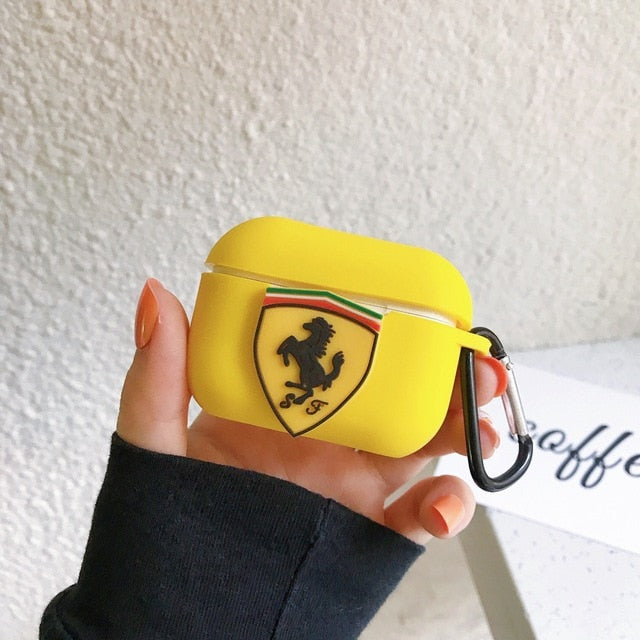 Ferrari Silicone AirPods Pro Case Shock Proof Cover