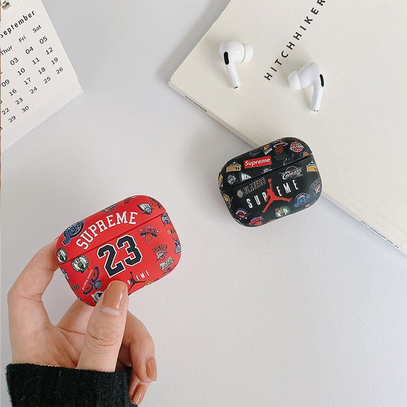 Jordan Supreme Airpods Pro Case Shock Proof Cover Iaccessorize