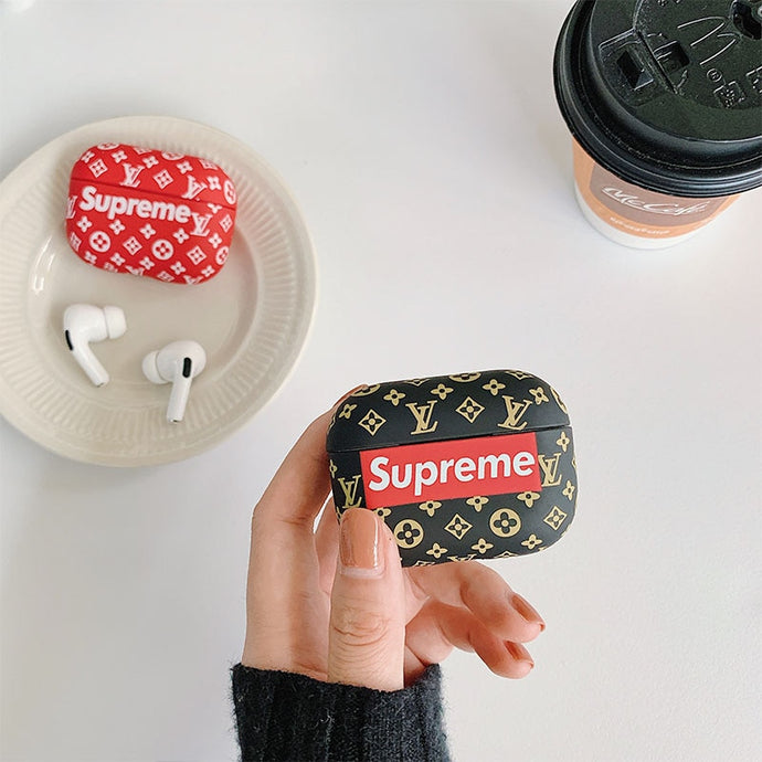 Fashion 'Supreme' AirPods Pro Case Shock Proof Cover
