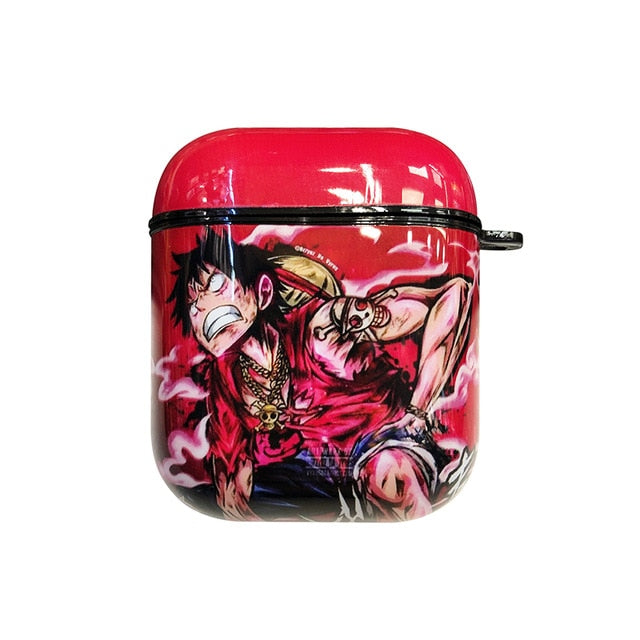 One Piece 'Angry Luffy' AirPods Case Shock Proof Cover