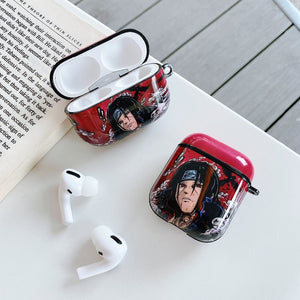 Naruto 'Uchiha' AirPods Case Shock Proof Cover