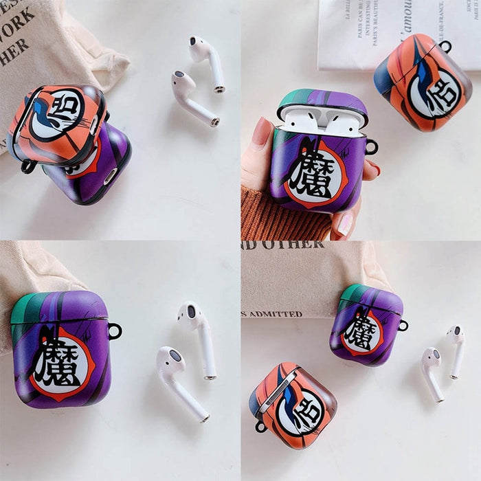 Dragon Ball Z 'Goku | Picollo Kanji' AirPods Case Shock Proof Cover