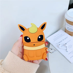Pokemon 'Flareon' Premium AirPods Case Shock Proof Cover