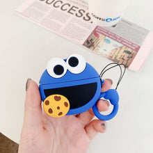 Load image into Gallery viewer, Cookie Monster 'Cookies' Premium AirPods Pro Case Shock Proof Cover