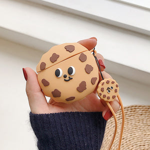 Cute Chocolate Chip Cookie Premium AirPods Pro Case Shock Proof Cover