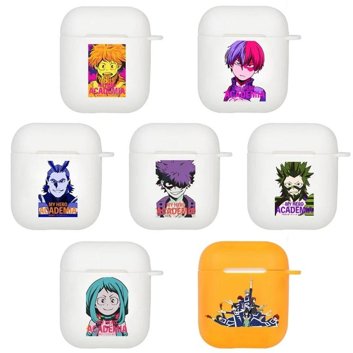 My Hero Academia Silicone AirPods Case Shock Proof Cover