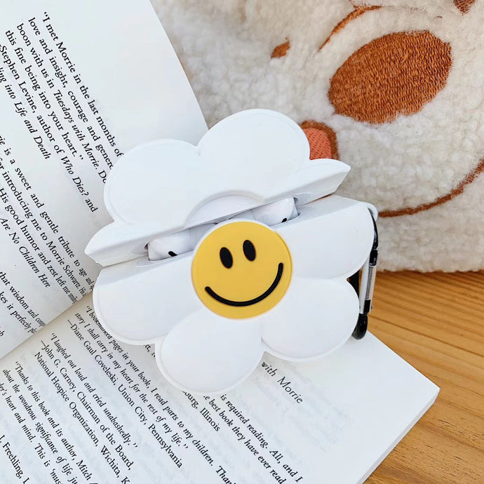 Cute Daisy Premium AirPods Case Shock Proof Cover