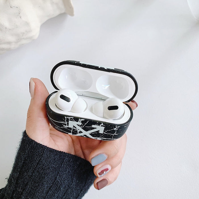 White AirPods Pro Case Shock Proof Cover