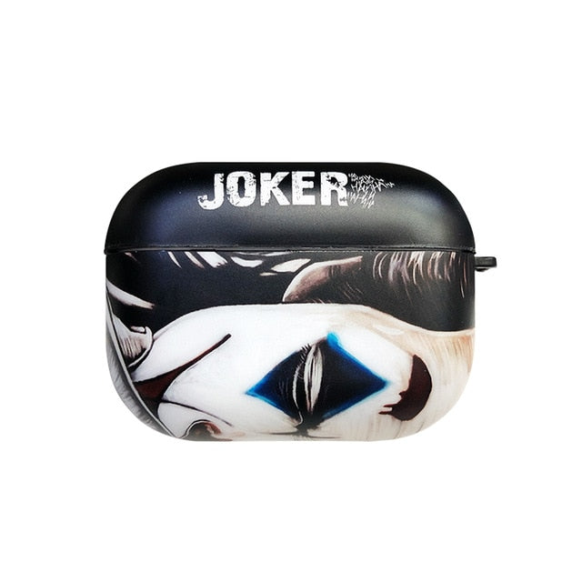 Joker 'Arthur Fleck | Serious' AirPods Pro Case Shock Proof Cover