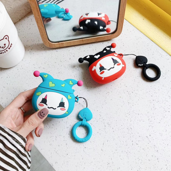 Cute Jester Premium AirPods Case Shock Proof Cover
