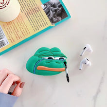 Load image into Gallery viewer, Crying Pepe the Frog Premium AirPods Pro Case Shock Proof Cover