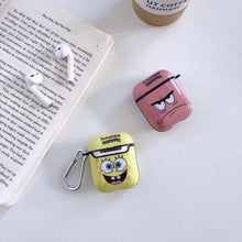 Load image into Gallery viewer, Spongebob Squarepants  Hard Silicone AirPods Case Shock Proof Cover