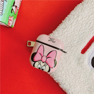 Disney 'Minnie | Peekaboo' AirPods Case Shock Proof Cover