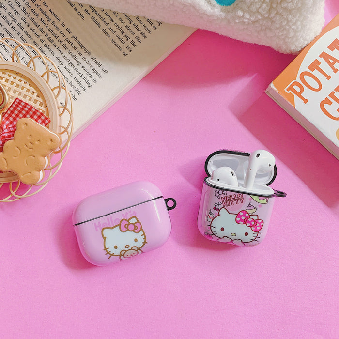 Kitty 'Oops' AirPods Case Shock Proof Cover