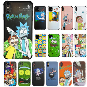 Rick and Morty 'The Pub' Soft TPU iPhone Case