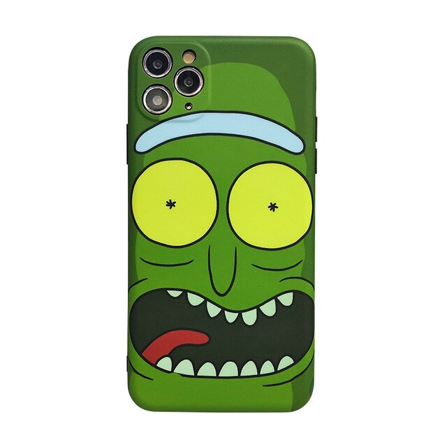 Rick and Morty 'Pickle Rick 2.0' Soft TPU iPhone Case