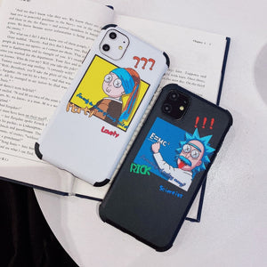 Rick and Morty 'Einstein' Soft TPU iPhone Case
