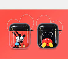 Load image into Gallery viewer, Mickey and Minnie 'Cutest Couple' AirPods Case Shock Proof Cover