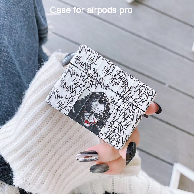 Joker 'Heath Ledger | Dark Knight | Ha Ha Ha' AirPods Pro Case Shock Proof Cover
