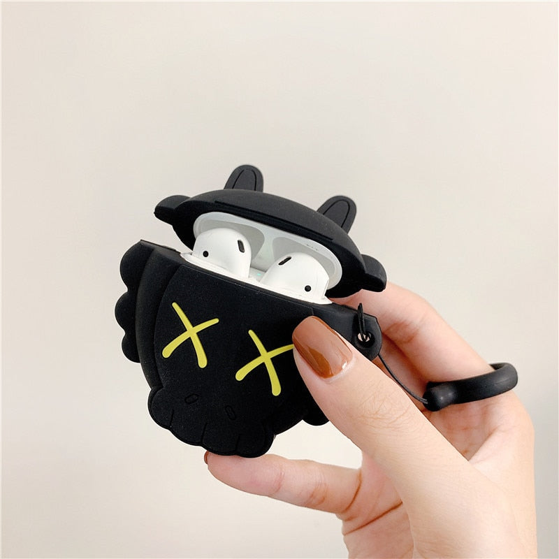 KAWS Skull Premium AirPods Case Shock Proof Cover