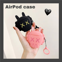 Load image into Gallery viewer, KAWS Skull Premium AirPods Case Shock Proof Cover