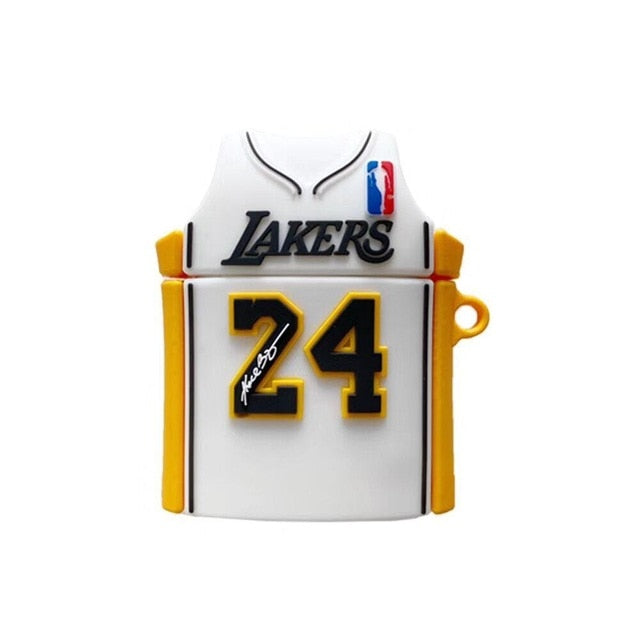 LA Basketball Jersey Premium AirPods Case Shock Proof Cover