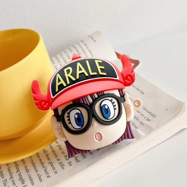 Arale Norimaki 'Red Hat' Premium AirPods Case Shock Proof Cover