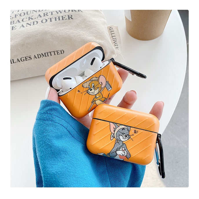 Tom and Jerry 'Orange | Modular' AirPods Pro Case Shock Proof Cover