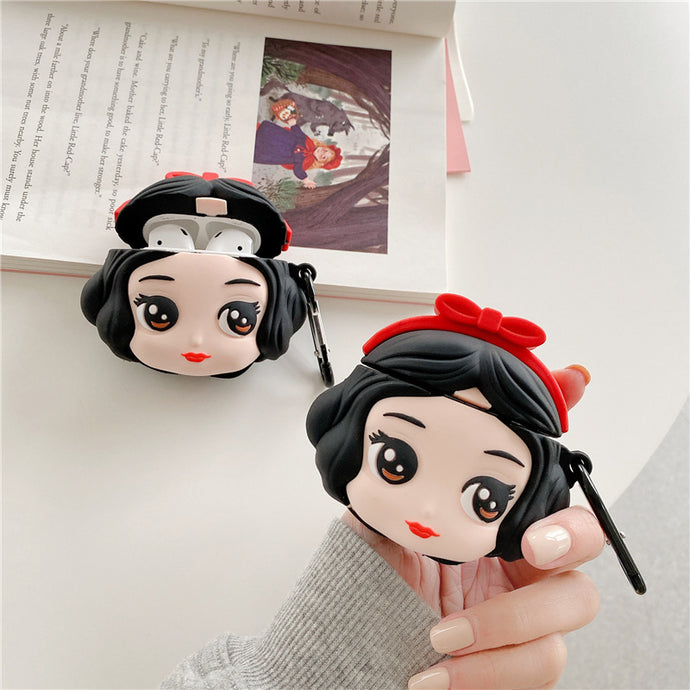 Snow White Premium AirPods Case Shock Proof Cover