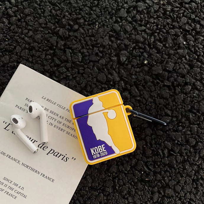 Kobe 'Lakers Colors' Premium AirPods Case Shock Proof Cover
