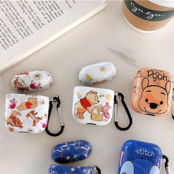 Winnie the Pooh '2.0' AirPods Case Shock Proof Cover
