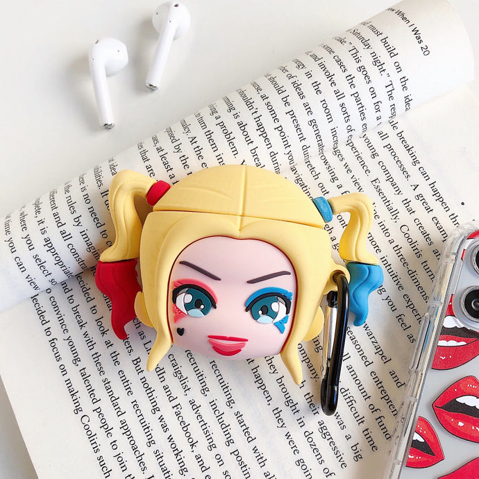 Harley Quinn Premium AirPods Case Shock Proof Cover