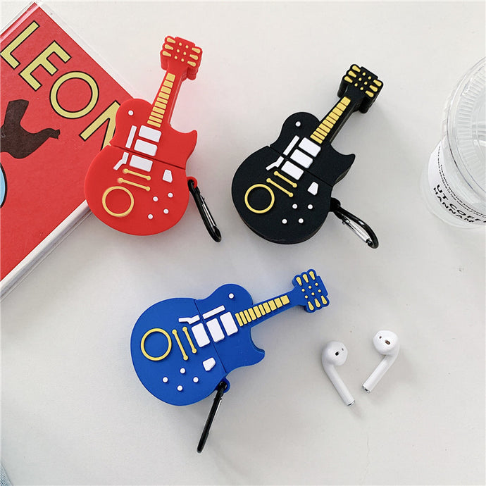 Blues Guitar Premium AirPods Case Shock Proof Cover