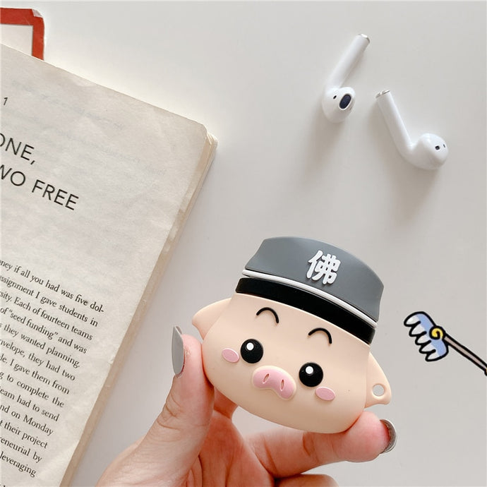 Journey to the West 'Zhu Bai Je | Piggy' AirPods Case Shock Proof Cover