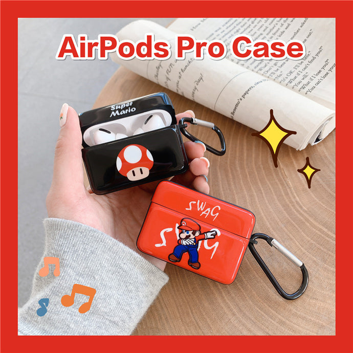 Super Mario 'Swag' AirPods Pro Case Shock Proof Cover
