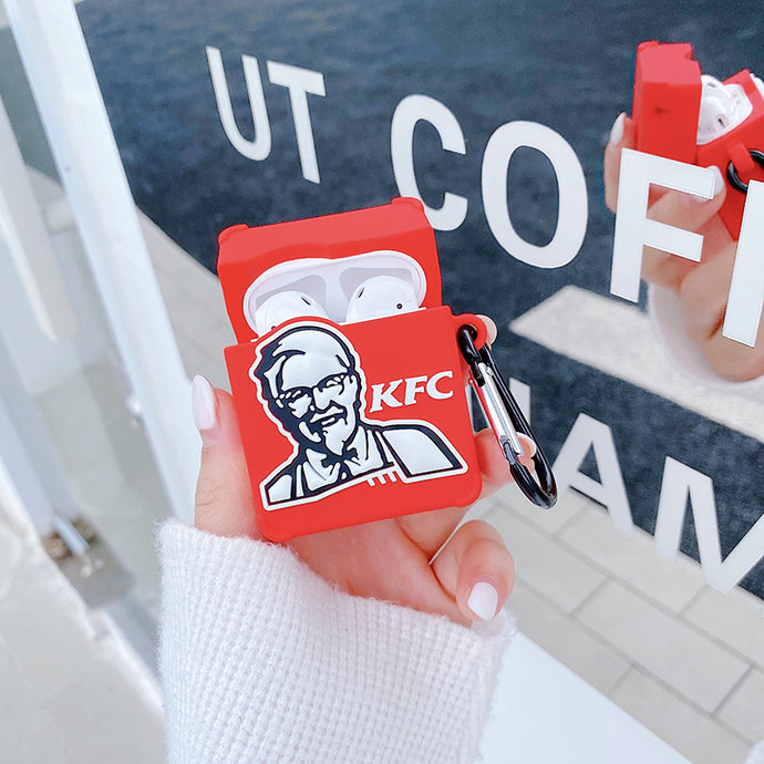 KFC AirPods Case Shock Proof Cover