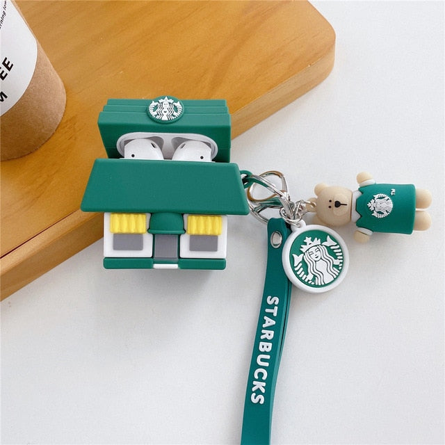 Starbucks Store Premium AirPods Case Shock Proof Cover