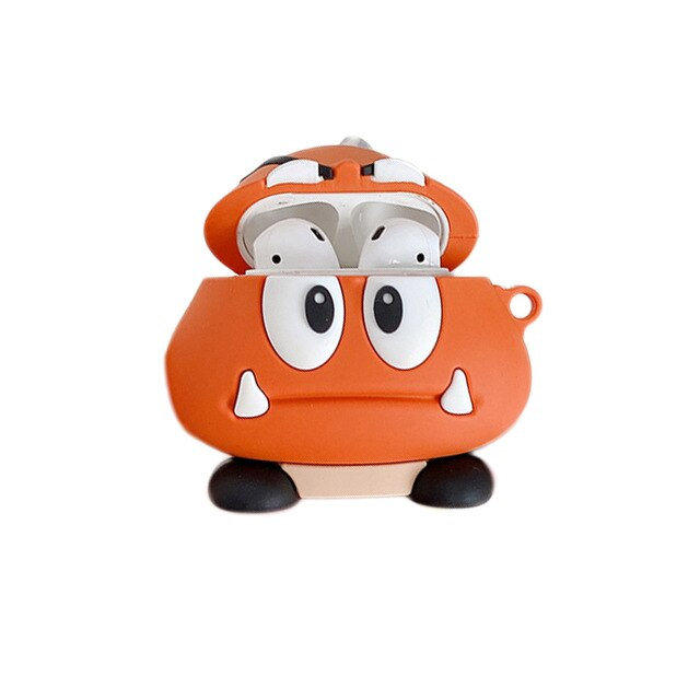 Super Mario Bros 'Goomba' Premium AirPods Case Shock Proof Cover
