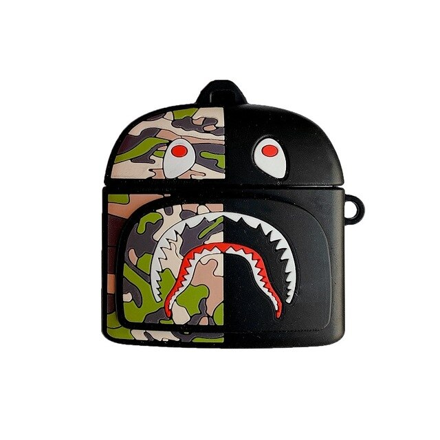 Bape Shark Backpack Premium AirPods Pro Case Shock Proof Cover