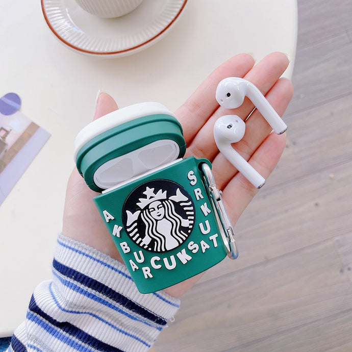 Starbucks 'Jumbles' Premium AirPods Case Shock Proof Cover