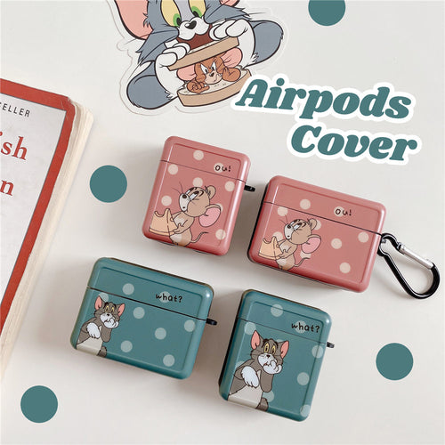Tom and Jerry 'What | Ou | Modular' AirPods Pro Case Shock Proof Cover