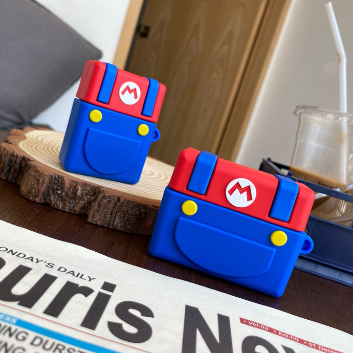 Super Mario Bros 'Buttons' Premium AirPods Pro Case Shock Proof Cover