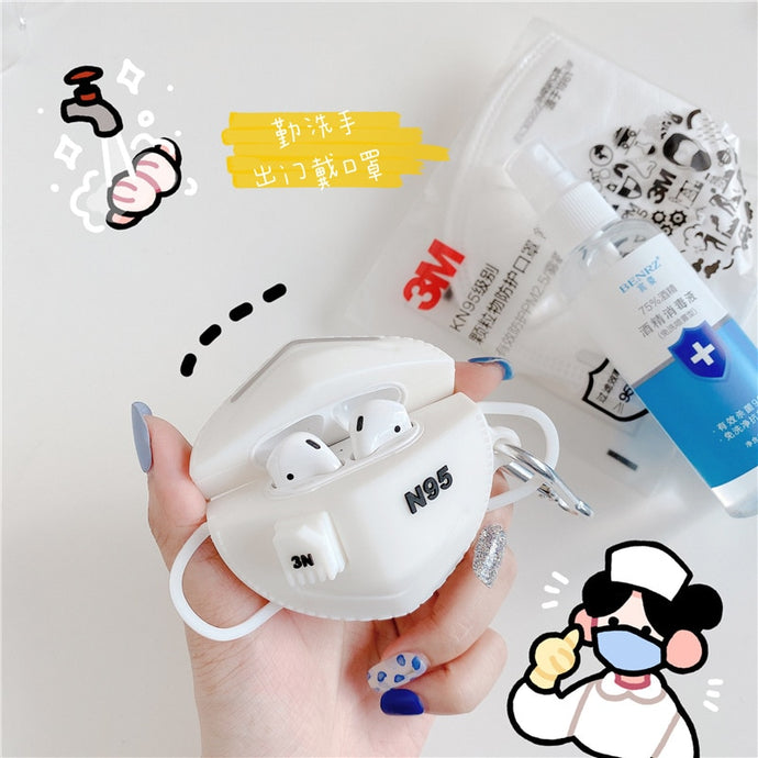 Health 'N|9|5 3M' Premium AirPods Case Shock Proof Cover