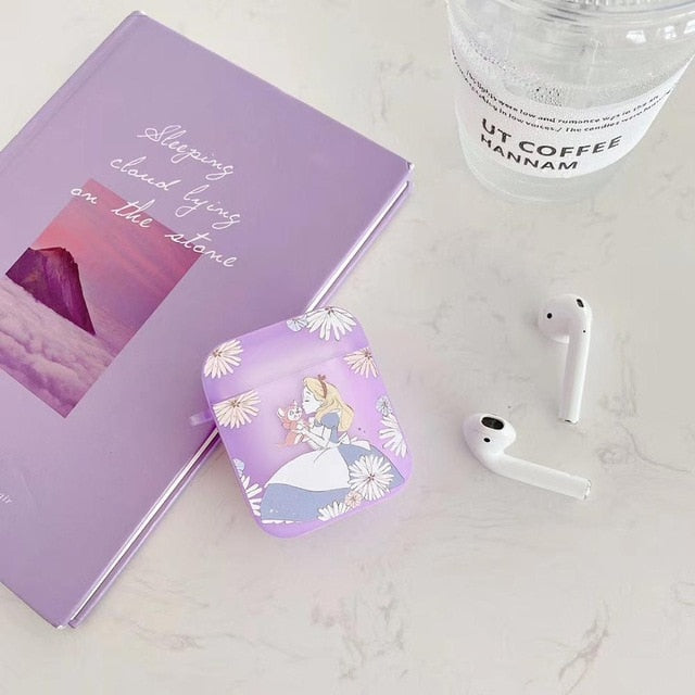 Alice in Wonderland 'Fluorescent' AirPods Case Shock Proof Cover