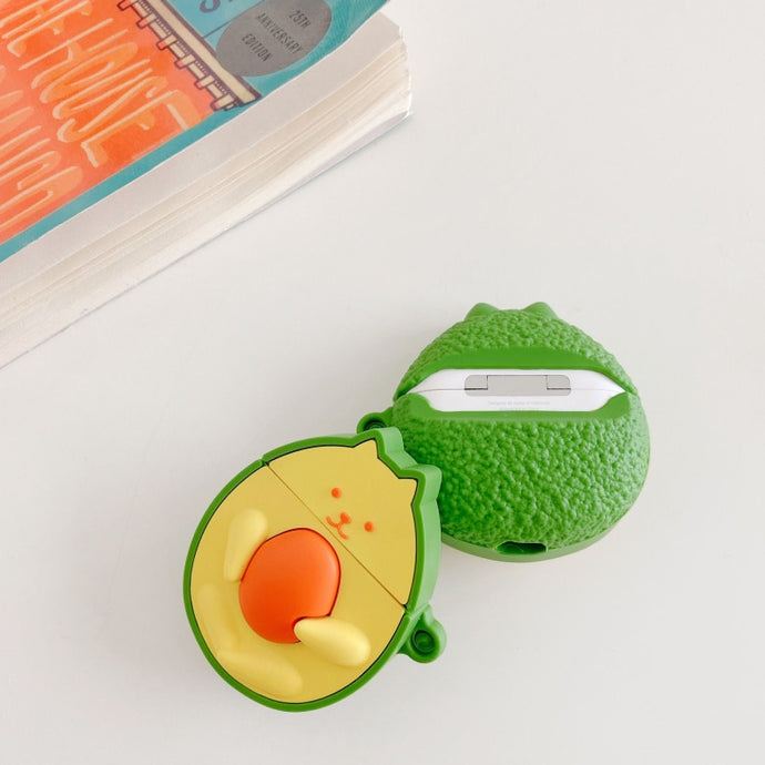 Avocado Cat Premium AirPods Pro Case Shock Proof Cover
